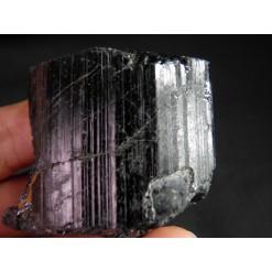 순수 블랙 투어머린 원석